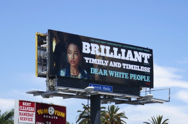 Dear White People 2018 Emmy FYC billboard