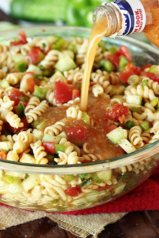 Ma S Picnic Pasta Salad The Kitchen Is My Playground,Simple 5 Bedroom 2 Story House Plans