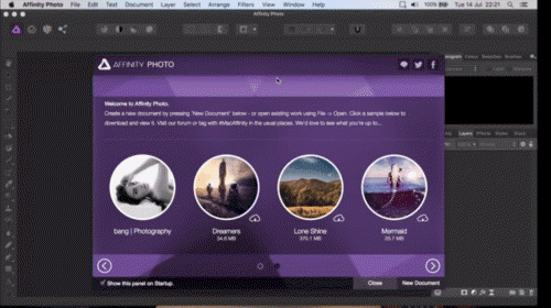 aplikasi edit foto terbaik Serif Affinity Photo