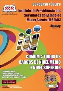 Apostila IPSEMG - Comum a Todos os cargos de Nível Médio e Superior