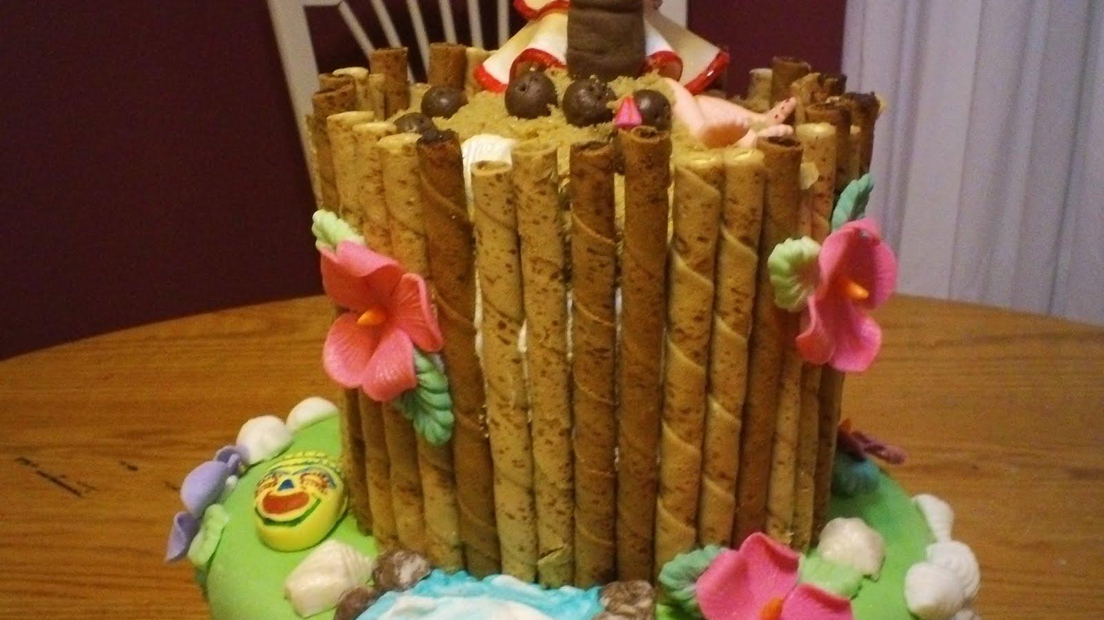 Debbie S Little Cakes Tropical Honeymoon Paradise