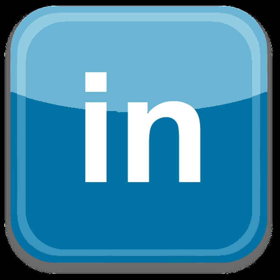 Linkedin: Social Media Logos: LinkedIn And Pinterest Logos
