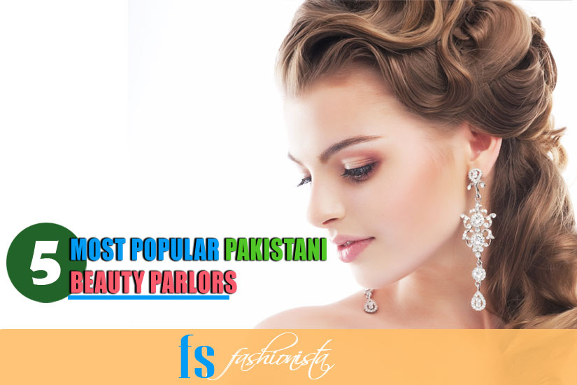 Popular Pakistani Beauty Parlors For Dulhan Makeup
