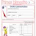 EXAMEN PARA PRIMER BIMESTRE-SEXTO GRADO (2015-2016)