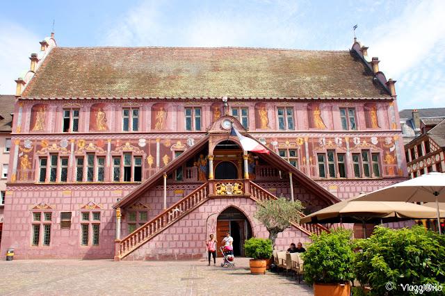 Facciata del municipio di Mulhouse