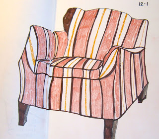 I have a thing for drawing chairs. Itu0027s like doing Portraits. Like the chair is a metaphor for a person. I think I should  return  to drawing chairs. & Wednesdayu0027s Child: One Of The Many Chair Drawings-2008
