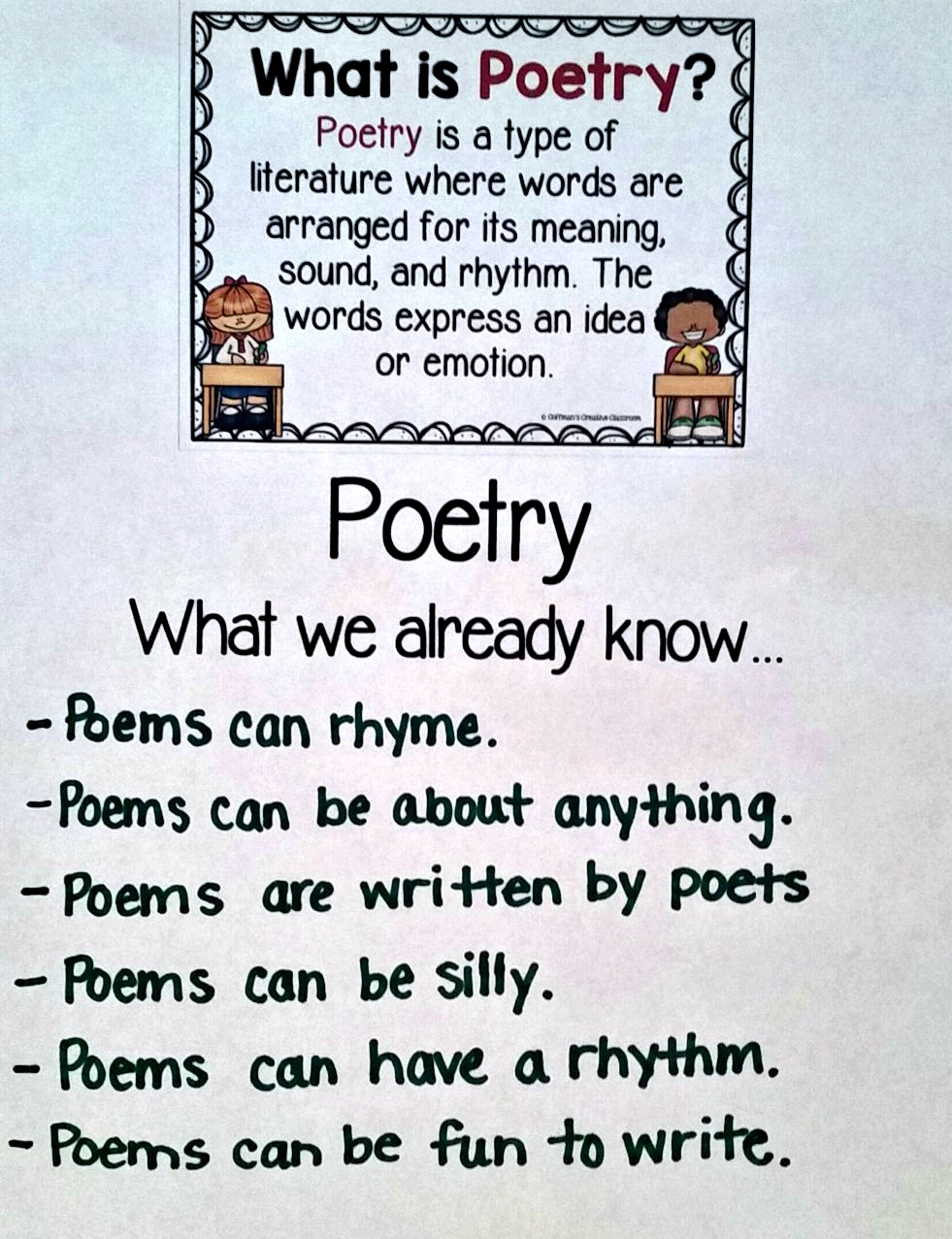 What is poetry 11