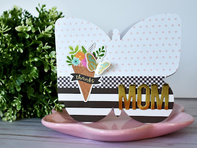 butterfly shaped mother's day card set by Wendy Sue Anderson