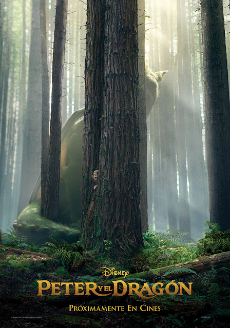 Teaser tráiler y póster de 'Peter y el dragón', nueva versión de 'Pedro y el dragón Elliot'