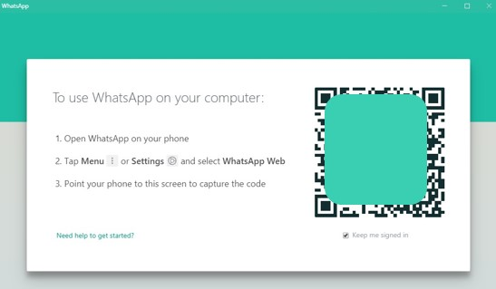 Login WhatsApp For PC