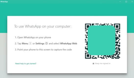 Login WhatsApp For PC