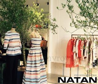 Queen Mathilde wore Natan dress