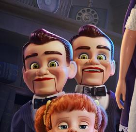 Toy Story 4 Benson ventriloquist dummy