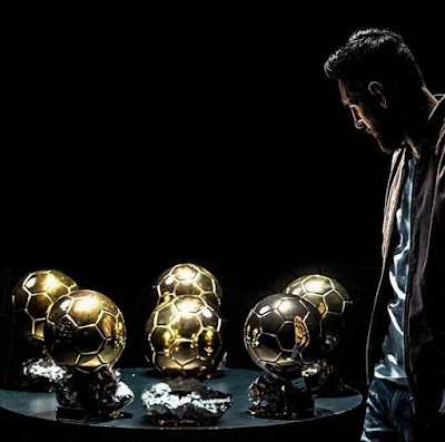 6th Balloon D'or coming ⏳⌛ #messi.