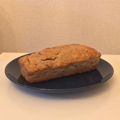 バナナケーキ,米粉,パウンドケーキ,バナナ,クックパッド,cookpad,グルテンフリー,glutenfree,gluten-free,米の粉,レシピ,キャロブパウダー,カフェインフリー,グルテン不耐性,ココア代用