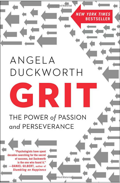 Grit: The Power of Passion and Perseverance By Anglela Duckworth cover page