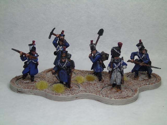 french peninsular war engineers sappers Napoleonic