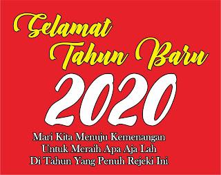 Slamat Tahun Baru 2020