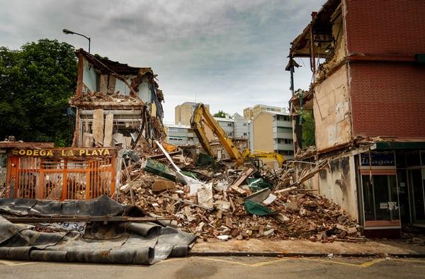 Earthquake, Danger, Destruction & Damage