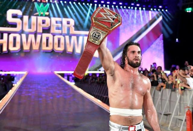 Seth Rollins vs. Baron Corbin - Universal Championship