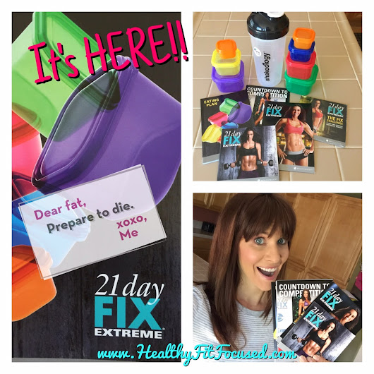Prep and Plan... 21 Day Fix Extreme & Meal Plan!