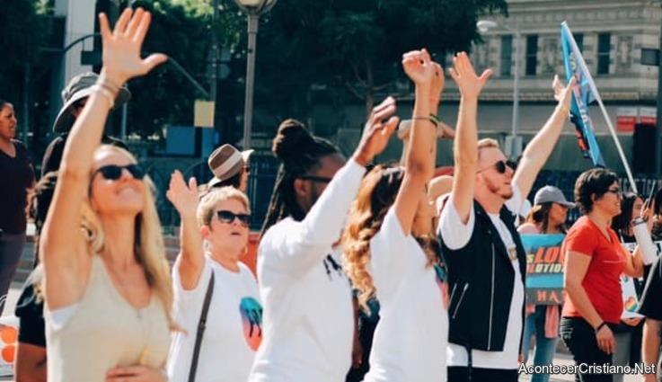 Marcha de ex homosexuales