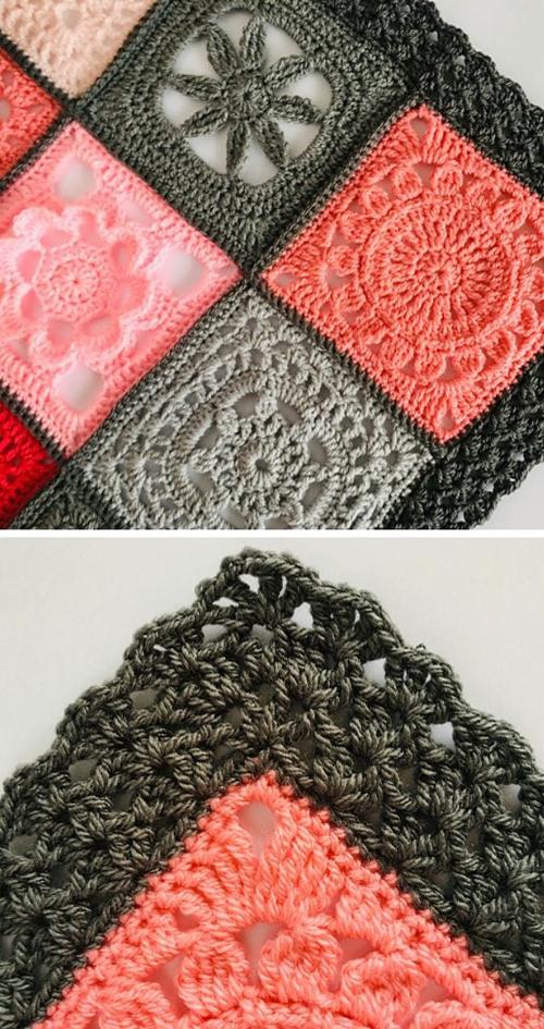 Iris Stitch Edging - Free Pattern