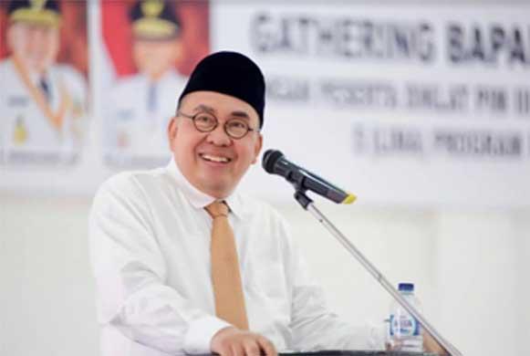 Bengkulu, DetikBengkulu.com, Berikan Motivasi Peserta Diklat Kepemimpinan, Gubernur RM Breakdown Program Prioritas
