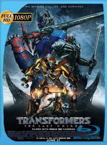 Transformers: El Último Caballero (2017) HD [1080p] Latino [Mega] SilvestreHD