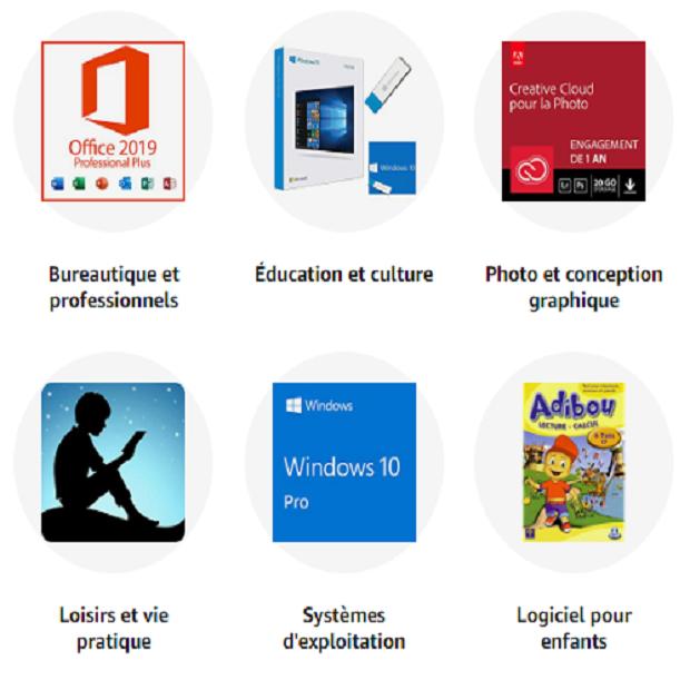 LOGICIELS : Amazon.fr - Achat en ligne dans un vaste choix sur la boutique Logiciels.