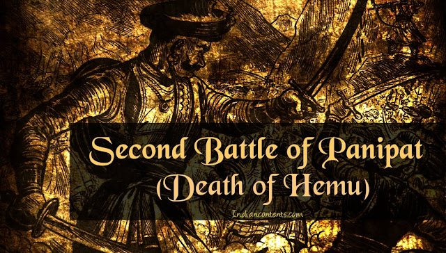 Second Battle of Panipat and Death of Hemu