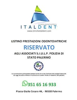 ItalDent - convenzione per gli iscritti Siulp
