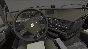 Dark interior for the new Volvo FH by Bram Smit
