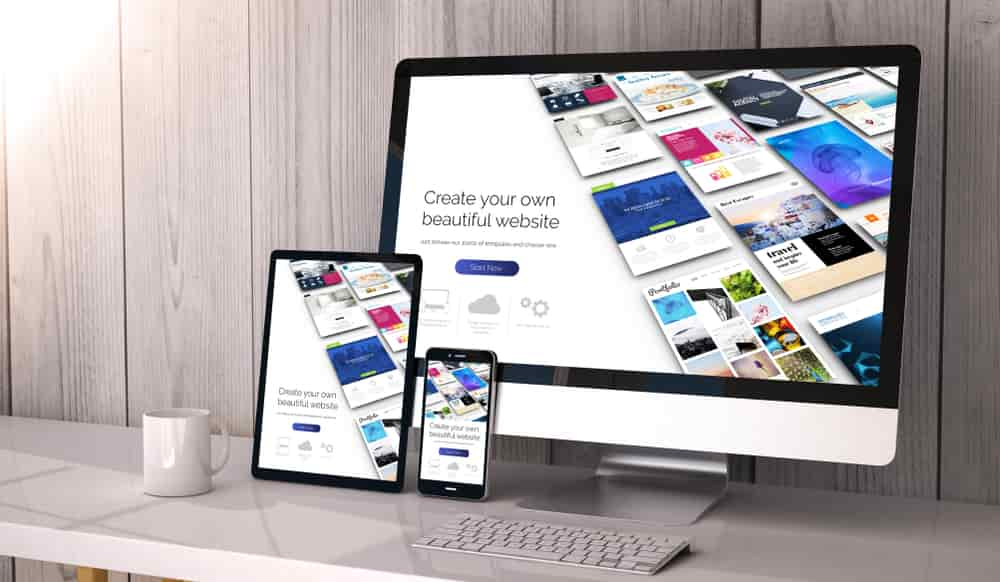 Choose a responsive theme
