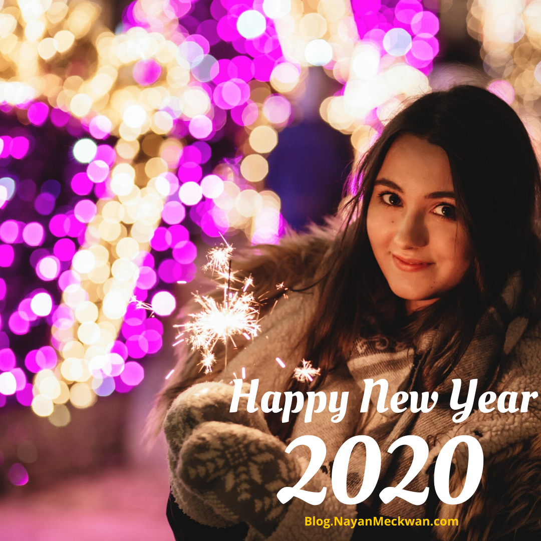 Happy New Year 2020 Images, Greetings, Quotes,  Wallpapers, Messages in English and Hindi