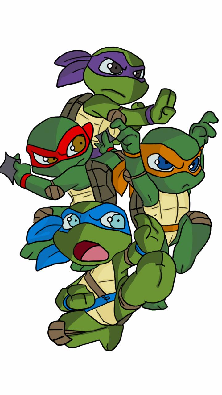 How to draw Cute ninja turtles, Raphael - YouTube |Baby Ninja Turtles Drawings