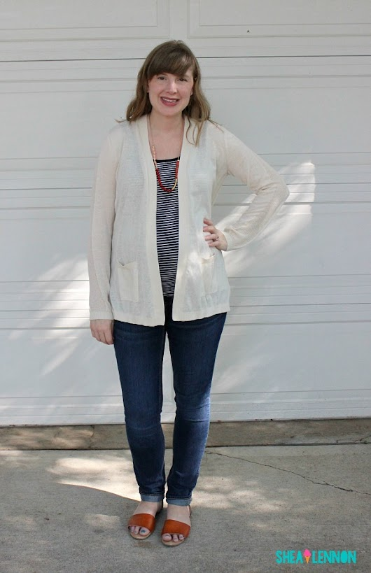 Versatile Neutral Cardigan: Summer and Fall Staple