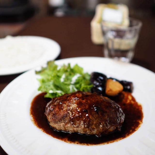 瑞牆山荘 レストラン ハンバーグ