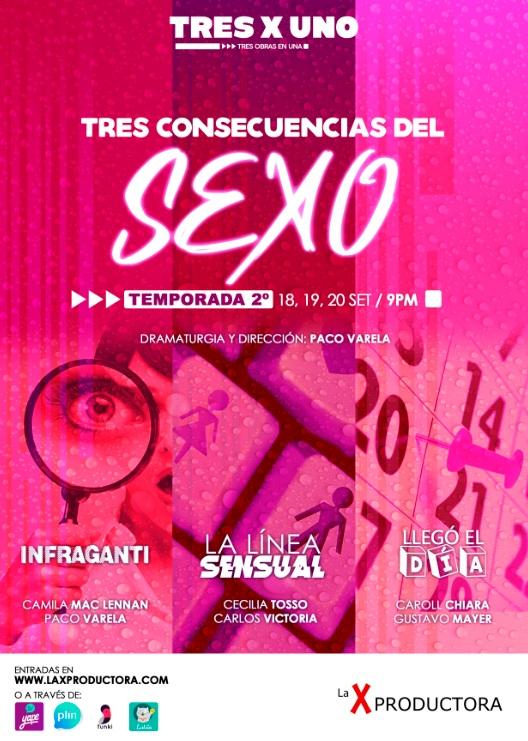 """""""TRES X UNO"""", el nuevo proyecto de teatro virtual cargado de diversión y cultura para el Perú"""