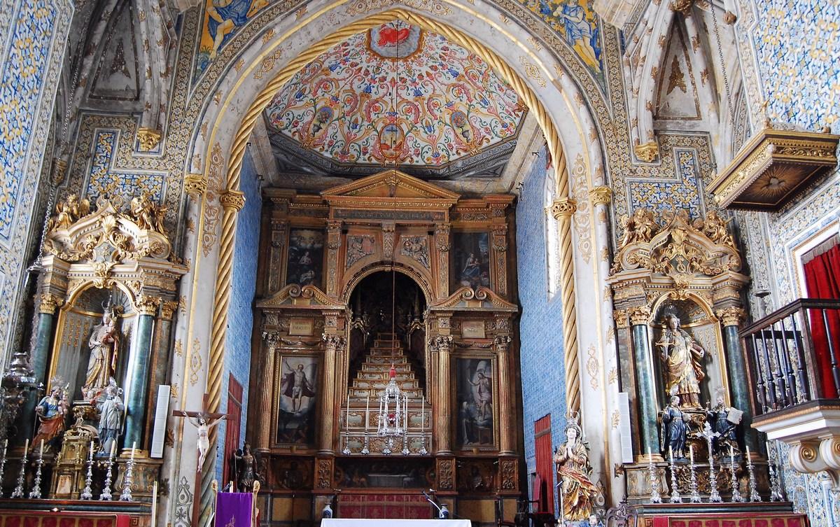 chapelle Sao Miguel Coimbra
