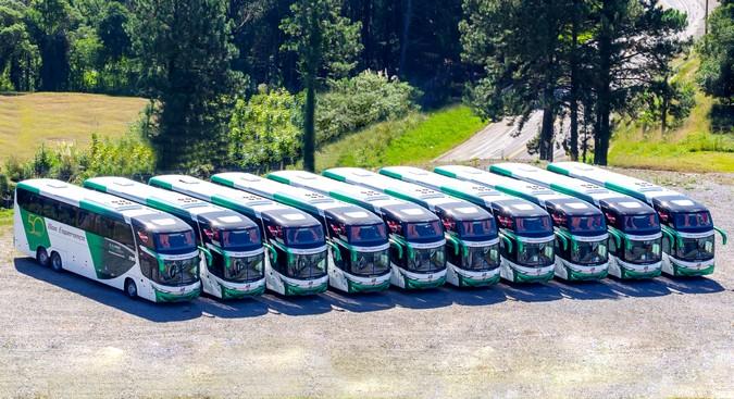Viação Boa Esperança renova frota com 16 ônibus Scania e Marcopolo