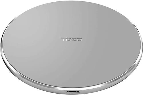 TOZO W1 Wireless Charger Thin Aviation Aluminum