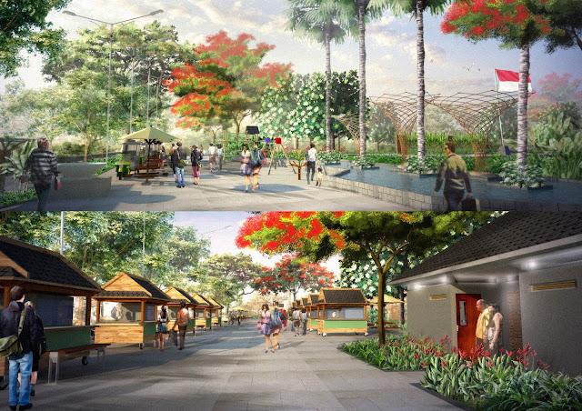 Watampone Green Epicentrum Bakal Jadi Ikon Baru di Bone, Begini Desain dari Pemenang Sayembara