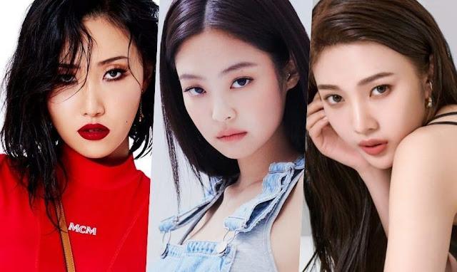 Daftar 30 Anggota Girlgroup Korea Selatan Terpopuler Bulan April 2020