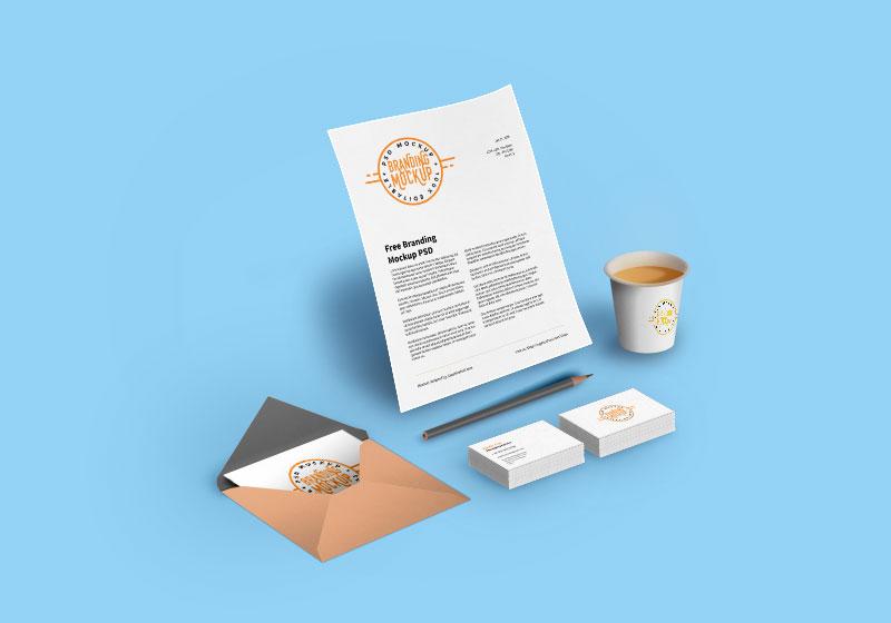 Branding Mockup PSD Design