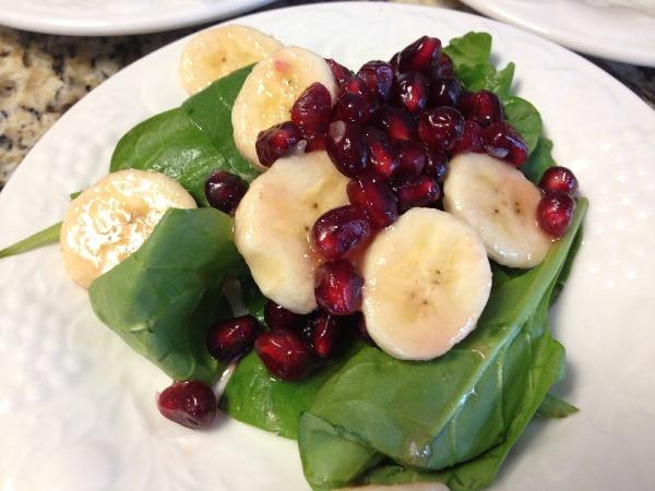 salad pisang untuk diet sehat