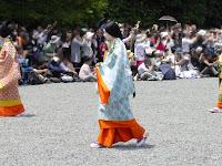 京都御苑・葵祭 女人列・斎王代列