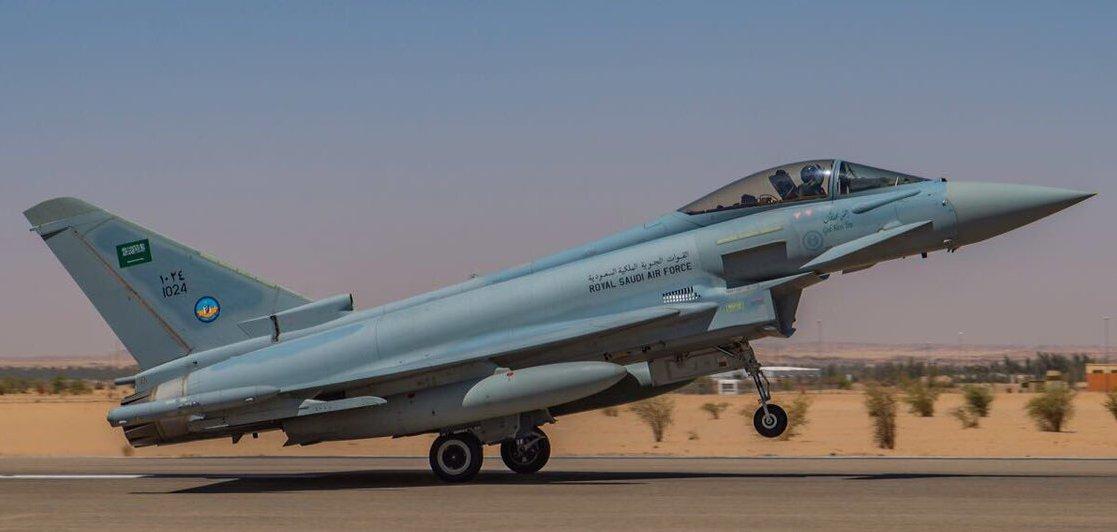 Saudi Eurofighter Typhoon Crashes in Yemen - Aviation
