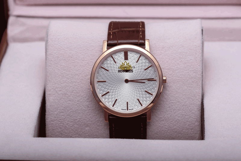 đồng hồ nam dây da tinh tế