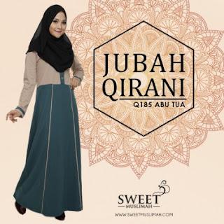 Design Baru Jubah Qirani Dari Sweetmuslimah